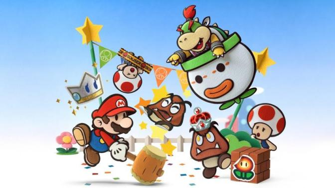 Paper Mario: Color Splash Announced